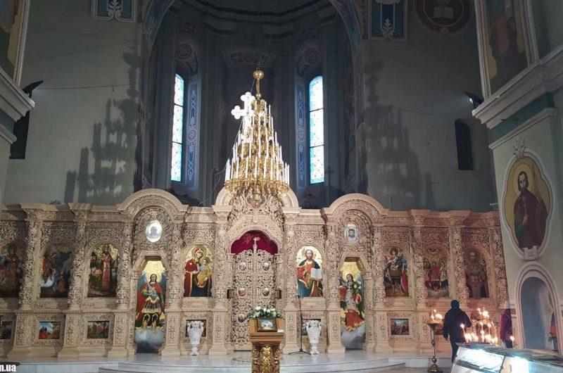 Внутри Георгиевский собор