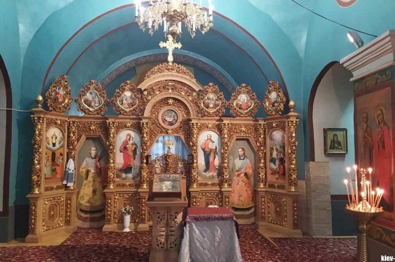 Иконостас Выдубицкого монастыря